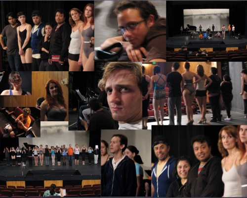 Some of the Chorus Line cast